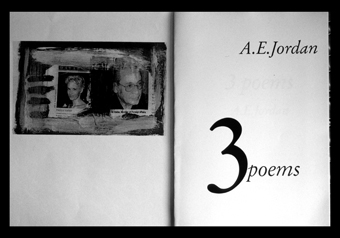 artist's book 3 poems